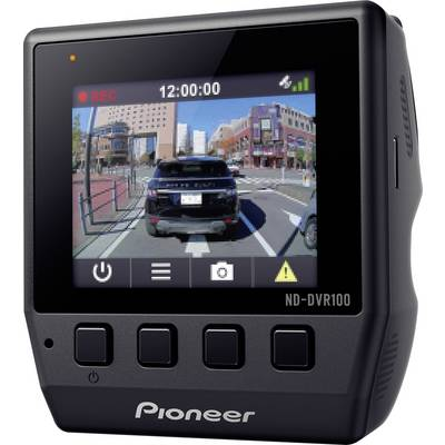 pioneer nd dvr100 dashcam mit gps blickwinkel horizontal max 114 12 v display mikrofon akku. Black Bedroom Furniture Sets. Home Design Ideas