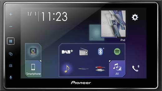 Pioneer SPH-DA130DAB Doppel-DIN Moniceiver Anschluss für Rückfahrkamera, Anschluss für Lenkradfernbedienung, AppRadio, B