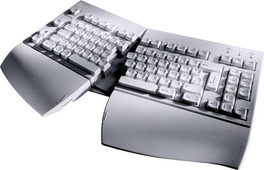 USB-Tastatur Fujitsu KBPC E Grau Ergonomisch