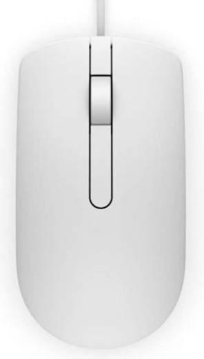 USB-Maus Optisch Dell MS116 Weiß