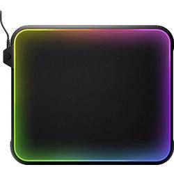 Herní podložka pod myš Steelseries QcK Prisms podsvícením, 292 x 357 x 9, černá, RGB