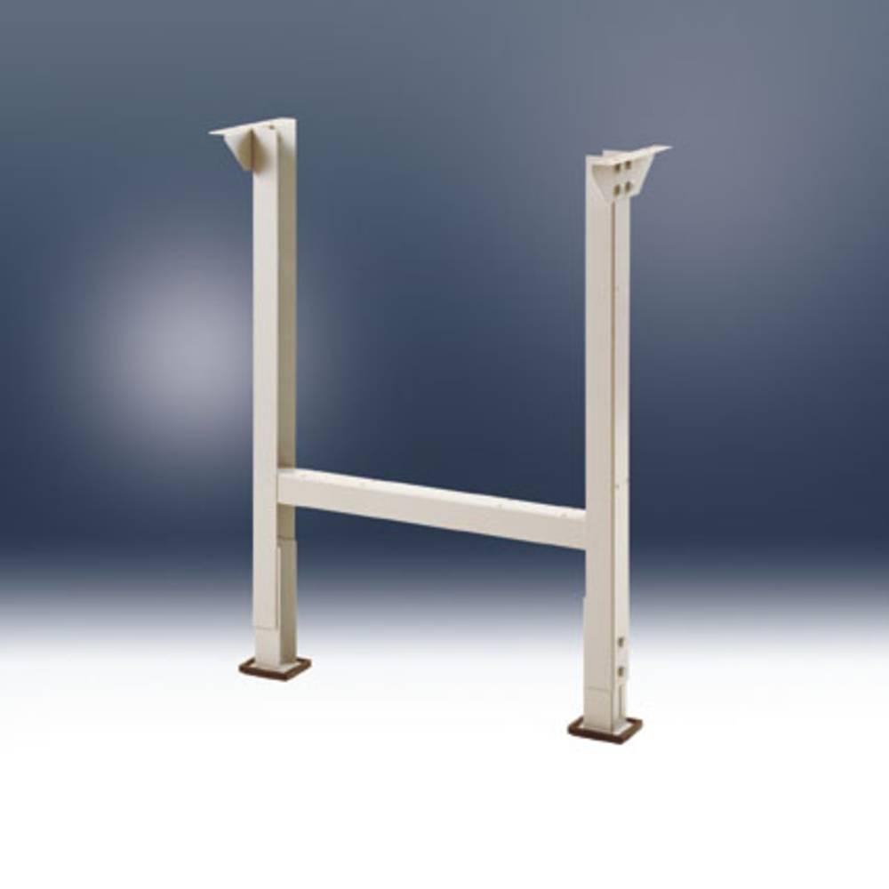 Combi telaio per tavolo 2 piedi ral 9006 alluminio - Piedi per tavolo ...