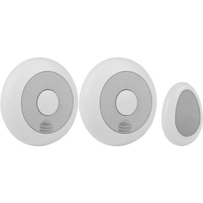 Smartwares RM175RF/2 + REMOTE 10.041.05 Funk-Rauchwarnmelder Set vernetzbar batteriebetrie Preisvergleich