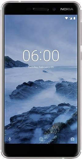 Nokia 6 (2018) Smartphone Dual-SIM 32 GB 14 cm (5.5 Zoll) 16 Mio. Pixel Android™ 8.0 Oreo Weiß