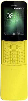 Nokia 8110 4G Dual-SIM-Handy Gelb