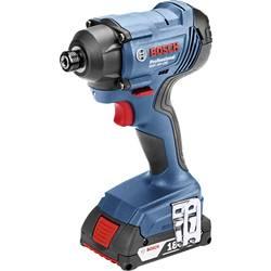 Aku rázový skrutkovač a uťahovák Bosch Professional GDR 18V-160 06019G5100, 18 V, 2 Ah, Li-Ion akumulátor