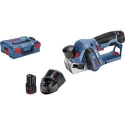 Bosch Professional Akumulátorový hoblík GHO 12 V-20 vč. 2. vč. 2 akumulátorů a kufříku L-Boxx 06015A7001