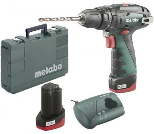 Metabo PowerMaxx SB Basic Akku-Schlagbohrschrauber 10.8 V 2 Ah Li-Ion inkl. 2. Akku, inkl. Koffer