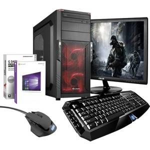 Gaming PC mit Tastatur & Maus plus Betriebssystem