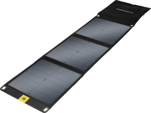 Solar-Ladegerät Power Traveller FALCON 40 PTL-FLS040 Ladestrom Solarzelle 3000 mA 40 W