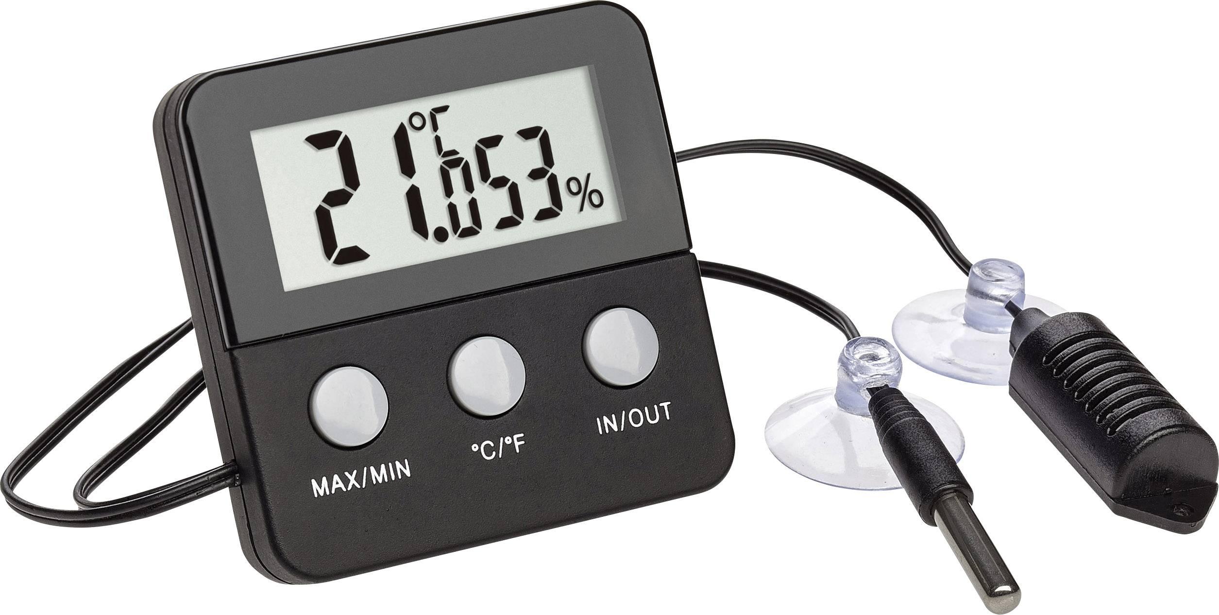 TFA Style Thermo-//Hygrometer Schwarz