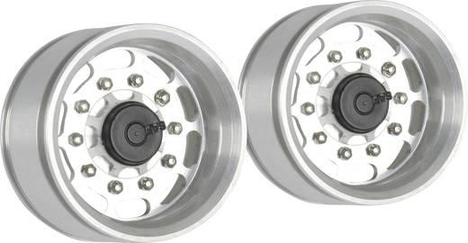 Carson Modellsport 1:14 LKW-Auflieger Felgen Aluminium Euro-Optik Silber 2 St.