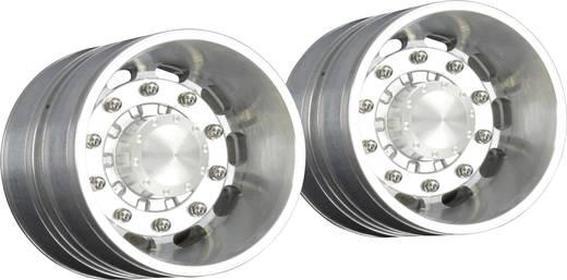 Carson Modellsport 1:14 LKW-Auflieger Felgen Aluminium Euro-Optik 4 St.