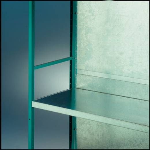 Regalrückwand (B x H x T) 1000 x 2500 x 0.75 mm Stahlblech verzinkt Verzinkt Manuflex RZ0275