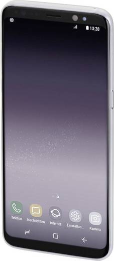 Hama Ultra Slim Backcover Passend für: Samsung Galaxy S9+ Weiß (transparent)
