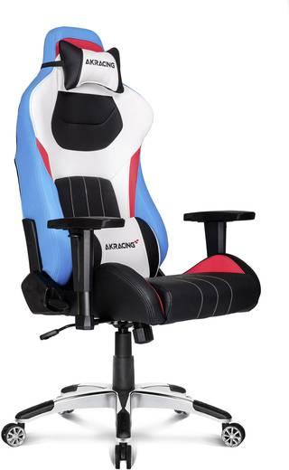 Gaming Stuhl Akracing Premium Style V2 Blau Weiß Schwarz Rot