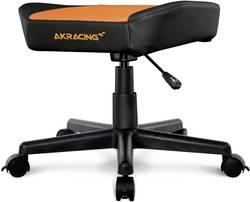 Image of Gaming-Hocker AKRACING AK-FOOTSTOOL Schwarz, Orange