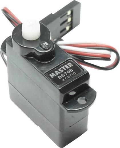 Master Mini-Servo Digital-Servo Getriebe-Material: Kunststoff Stecksystem: JR / Futaba