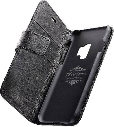 Cellularline SUPREMECGALS9K Booklet Passend für: Samsung Galaxy S9 Schwarz