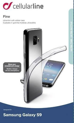 Cellularline FINECGALS9T Backcover Passend für: Samsung Galaxy S9 Transparent