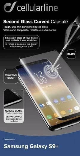 Cellularline TEMPGCUGALS9PLK Displayschutzglas Passend für: Samsung Galaxy S9+ 1 St.