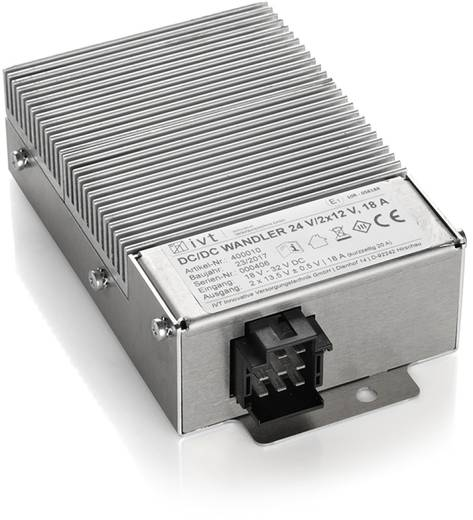 DC/DC-Wandler IVT 24V/2x12V 18 - 32 V/DC - 12 V/DC/20 A kaufen