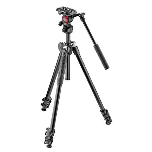 Manfrotto 290 light Kit mit Fluid-Videok Dreibeinstativ