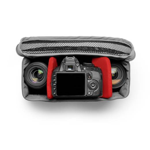 Kameratasche Manfrotto NX Messenger Tasche grau V2