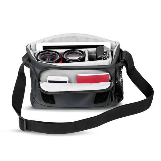Kameratasche Manfrotto NX Messenger Tasche CSC grau