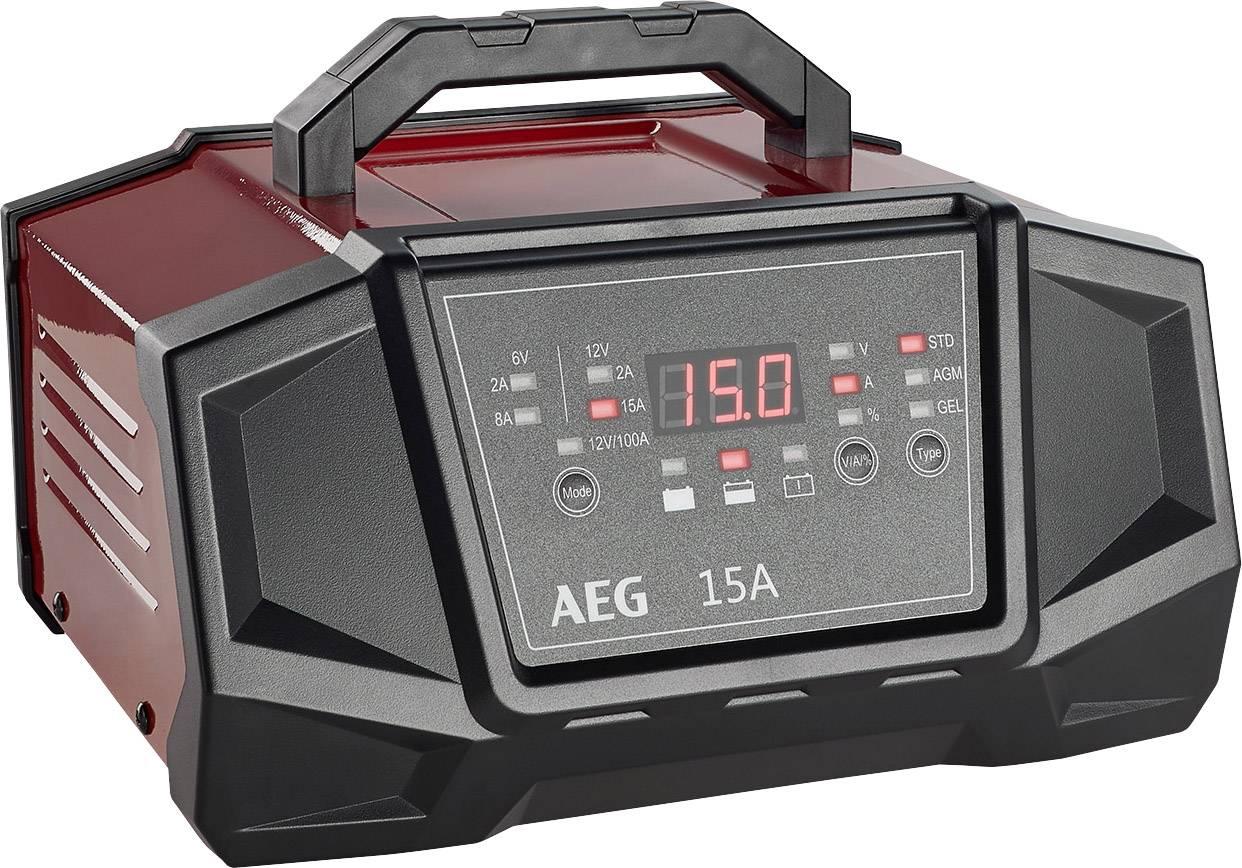 AEG Werk WM15100A 158009 Kfz Ladegerät 12 V, 6 V 8 A 15 A
