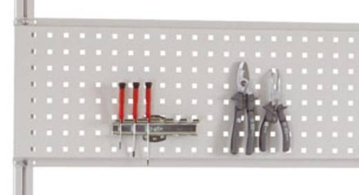 Manuflex ZB8273.7035 Werkzeughalterplatte 350x1496 mm für Alutisch 1500mm RAL7035 lichtgrau