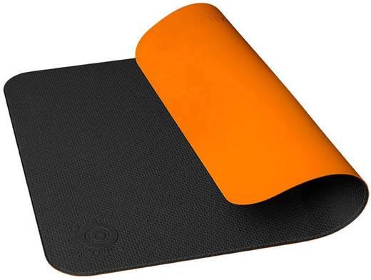 Gaming-Mauspad Steelseries Dex Stoff, Silikon Schwarz, Orange