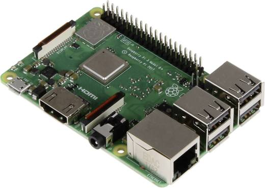 Raspberry Pi® 3 Model B+ 1 GB ohne Betriebssystem