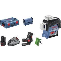 Krížová vodováha laserová samonivelačná Bosch Professional GLL 3-80 CG, Dosah (max.): 30 m, Kalibrované podľa: bez certifikátu