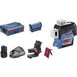 Krížová vodováha laserová samonivelačná Bosch Professional GLL 3-80 C, Dosah (max.): 30 m, Kalibrované podľa: bez certifikátu