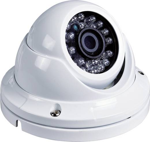 -Überwachungskamera 1920 x 1080 Pixel m-e modern-electronics DC S20A-W 55314