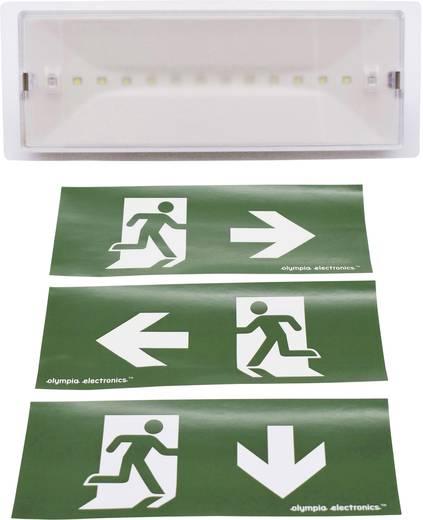 LED Fluchtweg-Notbeleuchtung Wandmontage Olympia Electronics GR-9/leds