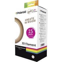 Sada vlákien pre 3D tlačiarne, Polaroid 3D-FP-PL-2501-00, 1.75 mm, 225 g, drevo