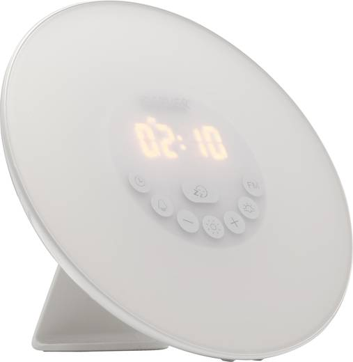 Lichtwecker Mit Radio Denver CRL-330 Weiß