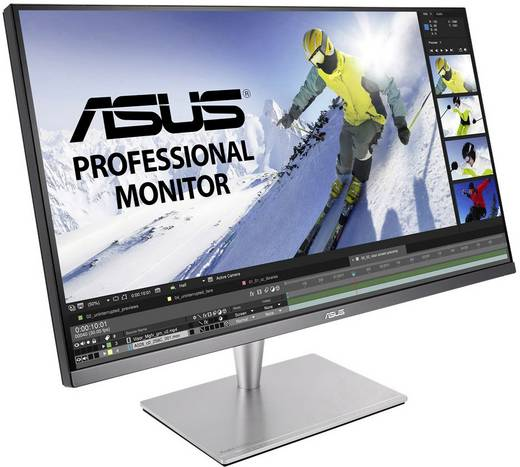 LED-Monitor 81.3 cm (32 Zoll) Asus PA32UC-K EEK B 3840 x 2160 Pixel UHD 2160p (4K) 5 ms HDMI™, DisplayPort, Thunderbolt