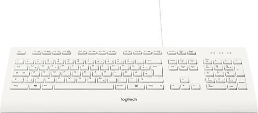 USB-Tastatur Logitech K280e B2B Weiß Spritzwassergeschützt
