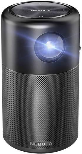 Anker Beamer Nebula Capsule DLP Helligkeit: 100 lm 854 x 480 WVGA 1500 : 1 Schwarz