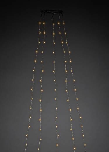 LED-Baummantel Innen netzbetrieben 240 LED (einfarbig) Bernstein Konstsmide 6378-890