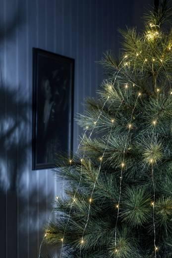 Konstsmide 6381-890 Weihnachtsbaum-Beleuchtung Innen netzbetrieben 200 LED (einfarbig) Bernstein