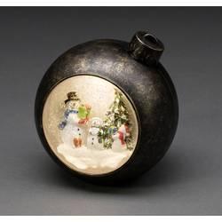 """Dekorativní LED osvětlení vánoční koule, sněhulák Konstsmide LED Weihnachtskugel """"Schneemänner"""" 4361"""