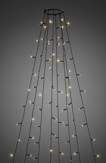 Konstsmide 6522-870 LED-Baummantel Außen netzbetrieben 560 LED (einfarbig) Bernstein