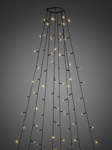 LED-Baummantel Außen netzbetrieben 400 LED (einfarbig) Bernstein Konstsmide 6521-870