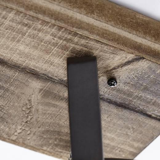 Deckenstrahler LED GU10 75 W Brilliant Carmen Wood 72030/84 Holz, Edelstahl (gebürstet)