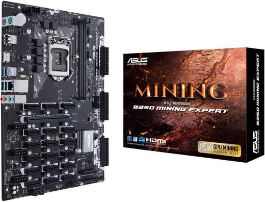 Mainboard Asus B250 Mining Expert Sockel Intel® 1151 Formfaktor ATX Mainboard-Chipsatz Intel® B250