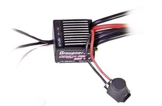 Automodell Brushless Fahrtregler Graupner Genius Pro 60R Belastbarkeit (max.): 382 A